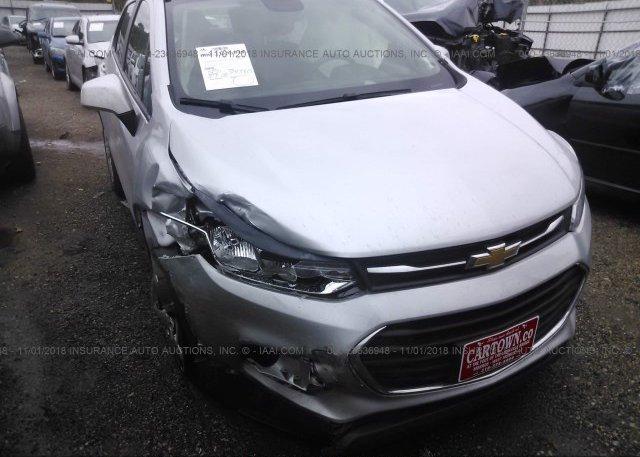 Inventory #667034739 2017 Chevrolet TRAX