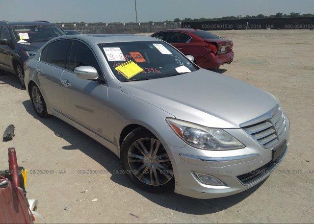 Inventory #191916438 2012 Hyundai GENESIS