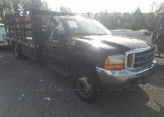 1999 FORD F550 - 1FDAF56FXXEE26895 Left View