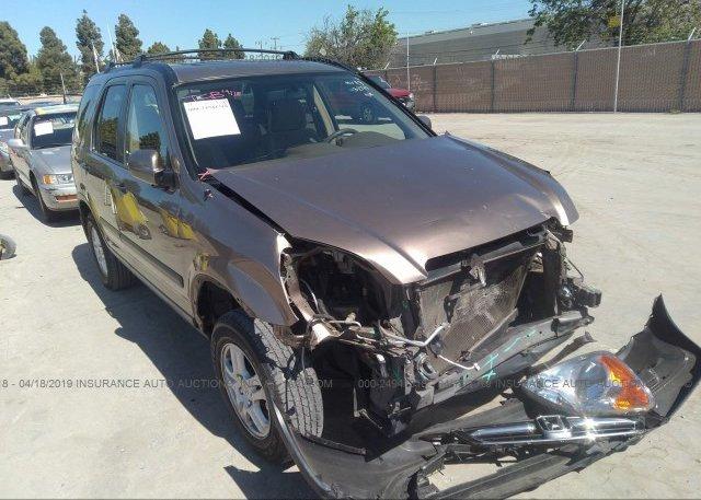Inventory #809678532 2004 Honda CR-V