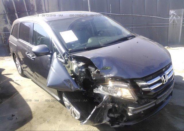 Inventory #994001155 2015 Honda ODYSSEY