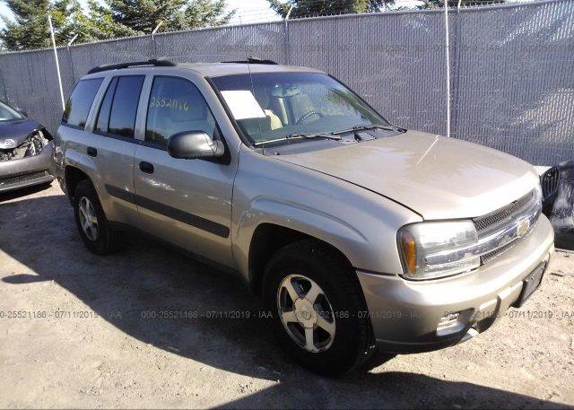 Inventory #984022142 2005 Chevrolet TRAILBLAZER
