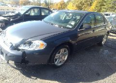 2008 Chevrolet IMPALA - 2G1WC583989149059 Right View