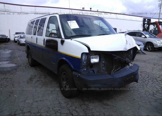 Inventory #885288275 2003 Chevrolet EXPRESS G2500