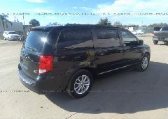 2014 Dodge GRAND CARAVAN - 2C4RDGCG1ER177215 rear view
