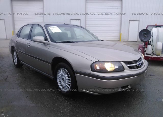 Inventory #769341589 2002 Chevrolet IMPALA