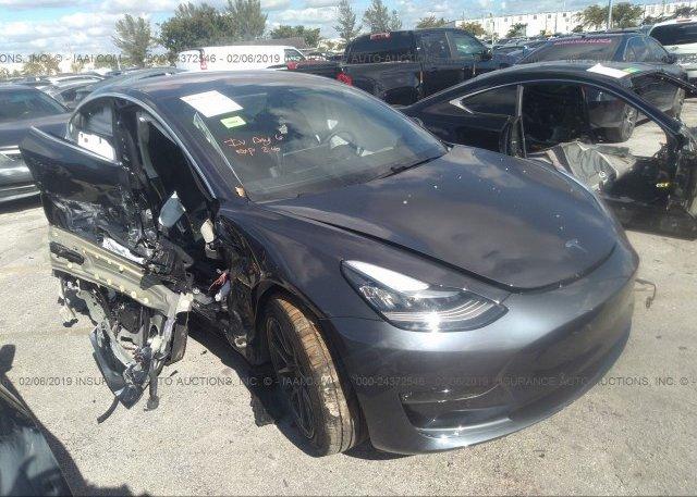 Inventory #408307597 2018 Tesla MODEL 3