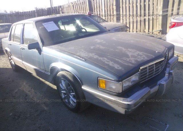 Inventory #193893774 1992 Cadillac DEVILLE