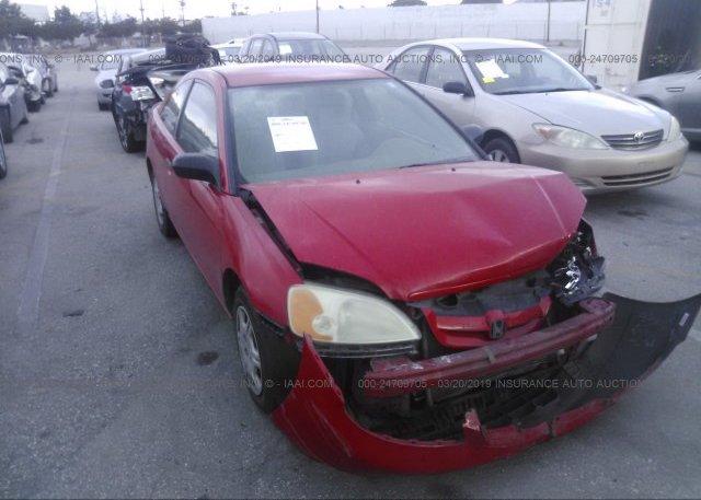 Inventory #341742717 2001 Honda CIVIC