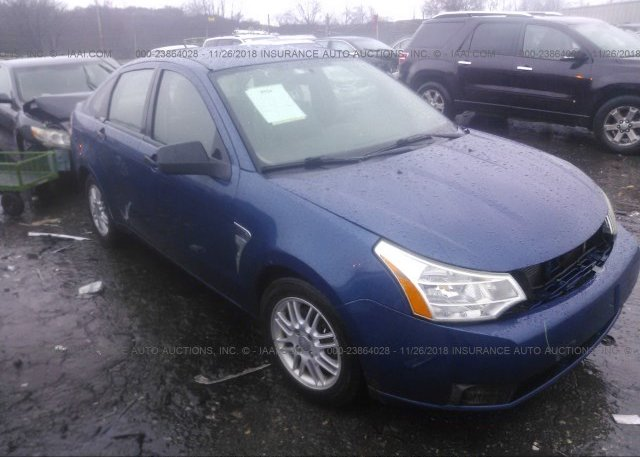 Inventory #697869483 2008 FORD FOCUS