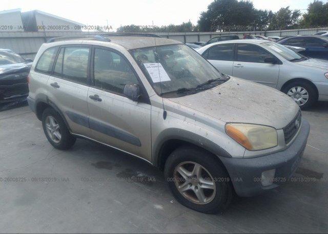 Inventory #484038420 2001 Toyota RAV4