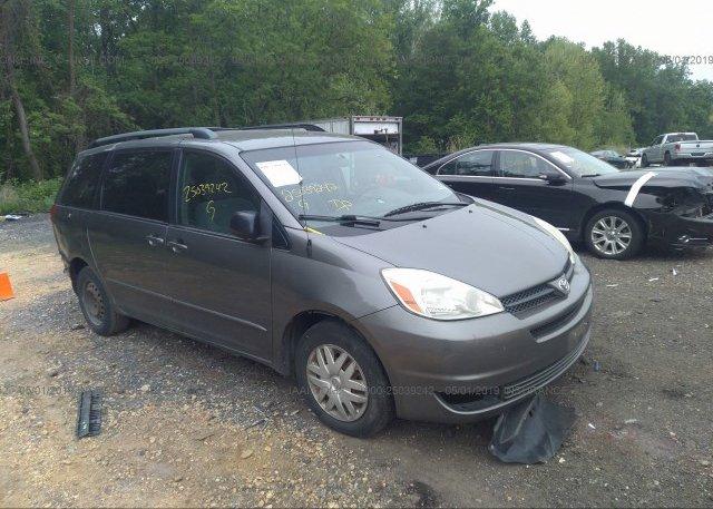 Inventory #962637552 2005 Toyota SIENNA