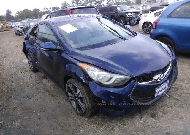 Inventory #629336408 2013 Hyundai ELANTRA COUPE