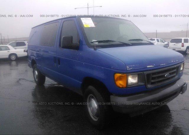 Inventory #138750201 2005 FORD ECONOLINE