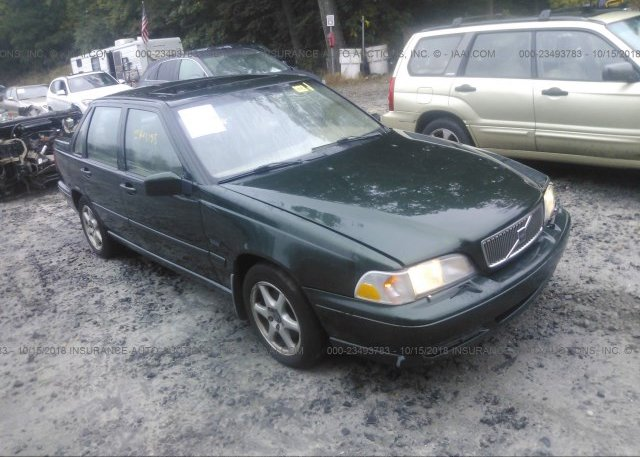 YV1LS5673W3525659, Salvage-Parts Only green Volvo S70 at