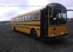 2002 THOMAS SCHOOL BUS - 1T7HR3B2621119616 Left View