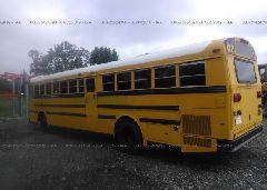 2002 THOMAS SCHOOL BUS - 1T7HR3B2621119616 [Angle] View