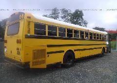 2002 THOMAS SCHOOL BUS - 1T7HR3B2621119616 rear view