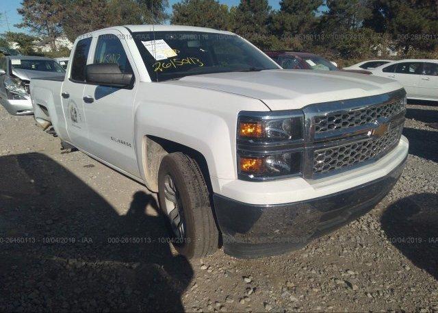 Inventory #873404832 2014 Chevrolet SILVERADO