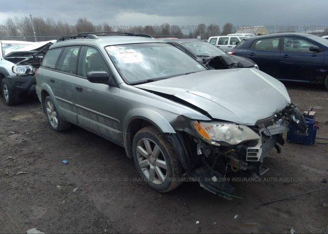 Inventory #630361780 2009 Subaru OUTBACK