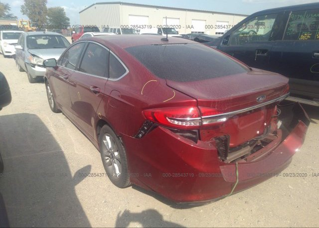 купить 2017 FORD FUSION 3FA6P0HD2HR311606