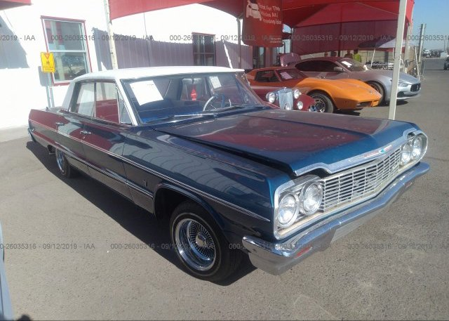 Inventory #470830838 1964 CHEVROLET IMPALA LIMITED