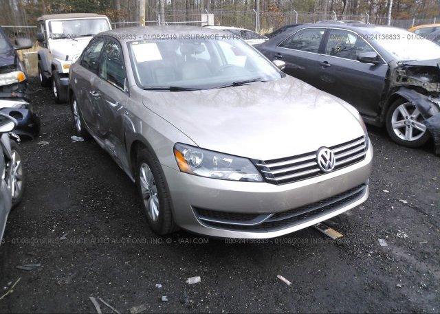 Inventory #831682497 2015 Volkswagen PASSAT