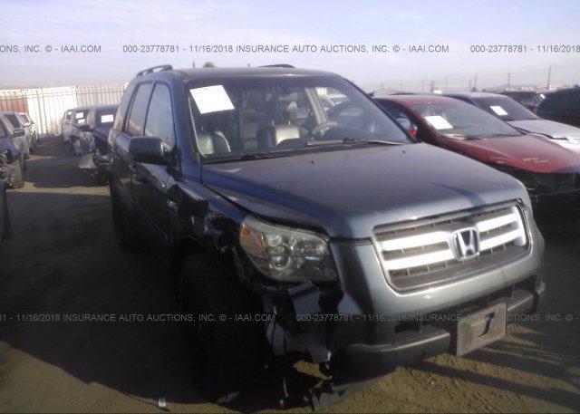Inventory #306368122 2006 HONDA PILOT