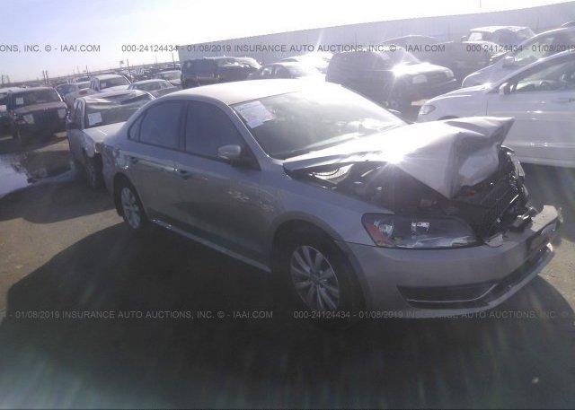 Inventory #861356005 2013 Volkswagen PASSAT