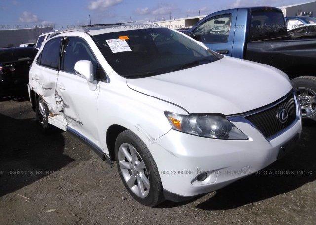 Inventory #844067383 2010 Lexus RX