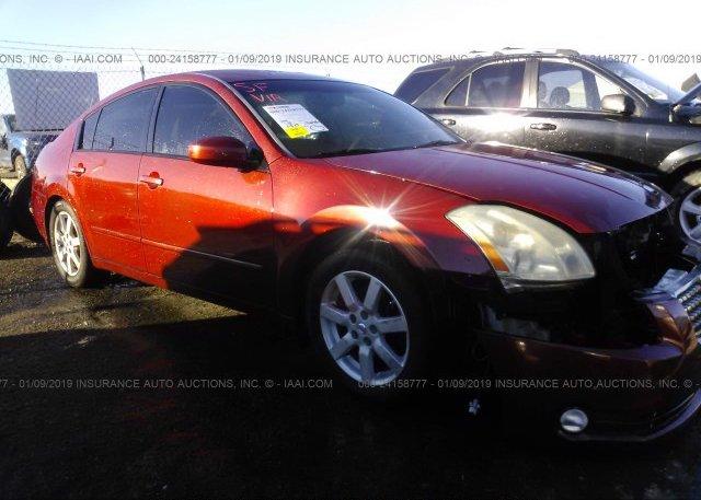 Inventory #523017575 2004 Nissan MAXIMA