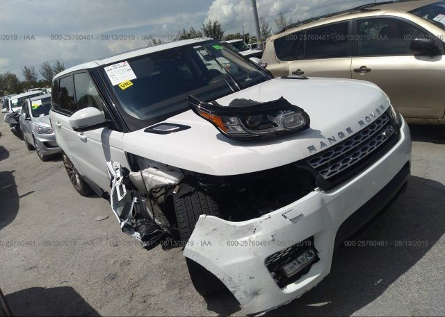 Inventory #597814910 2017 Land Rover RANGE ROVER SPORT