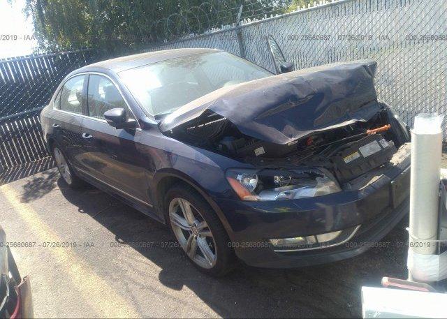 Inventory #569998453 2012 Volkswagen PASSAT