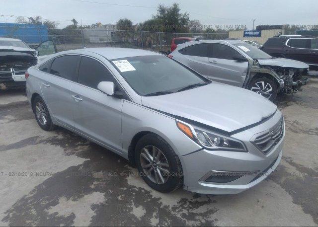 Inventory #235378534 2015 Hyundai SONATA