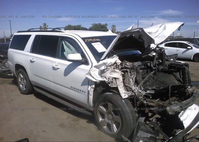 Inventory #652431348 2016 Chevrolet SUBURBAN