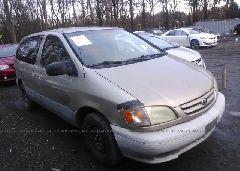 2001 Toyota SIENNA - 4T3ZF19C41U393054 Left View