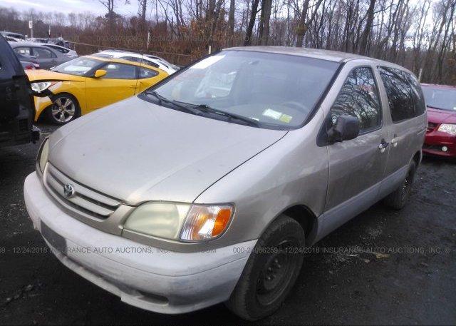 2001 Toyota SIENNA - 4T3ZF19C41U393054