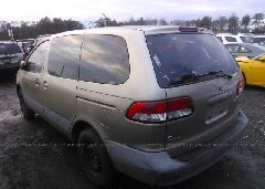 2001 Toyota SIENNA - 4T3ZF19C41U393054 [Angle] View