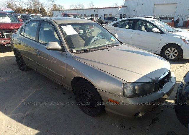 Inventory #967923244 2002 Hyundai ELANTRA