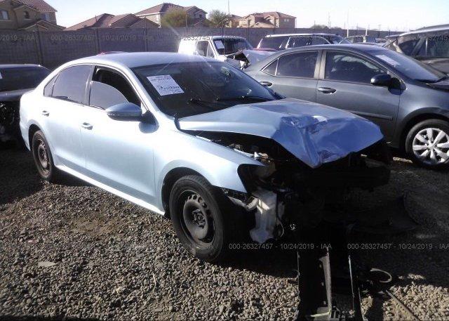 Inventory #606033862 2012 Volkswagen PASSAT