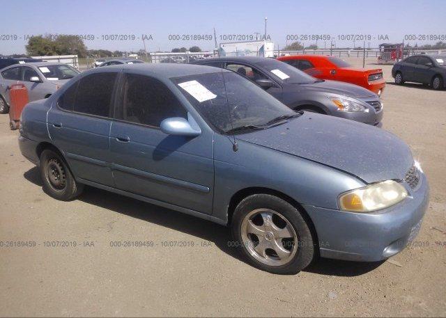Inventory #365487401 2002 Nissan SENTRA