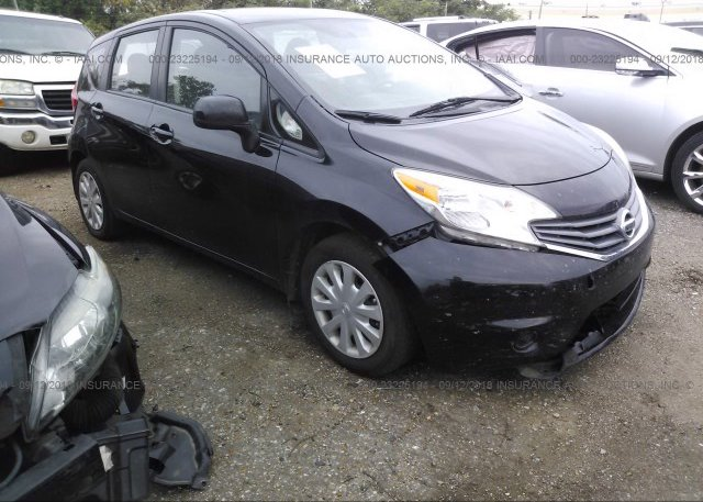 3n1ce2cp7el375352 Salvage Black Nissan Versa Note At Memphis Tn On