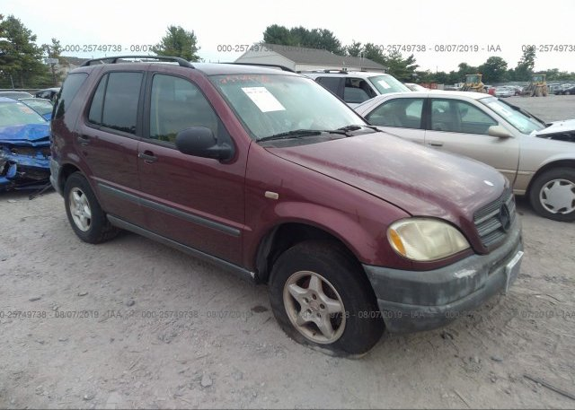 Inventory #864070816 1999 Mercedes-benz ML