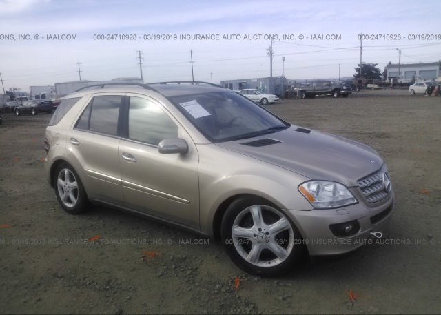 Inventory #392050351 2007 Mercedes-benz ML