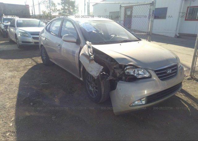 Inventory #968878394 2007 Hyundai ELANTRA