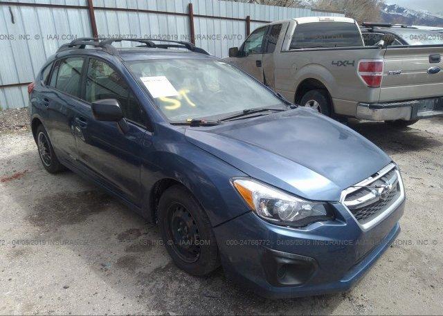 Inventory #263291115 2013 Subaru IMPREZA