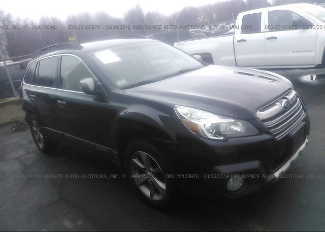 4s4brbsc8d3256792 Salvage Black Subaru Outback At East Windsor Ct