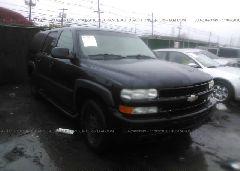 2002 Chevrolet SUBURBAN - 3GNFK16ZX2G199015 Left View