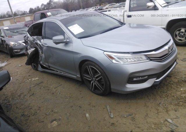 Honda Concord Nc >> 1hgcr3f9xga008865 Salvage Silver Honda Accord At Concord