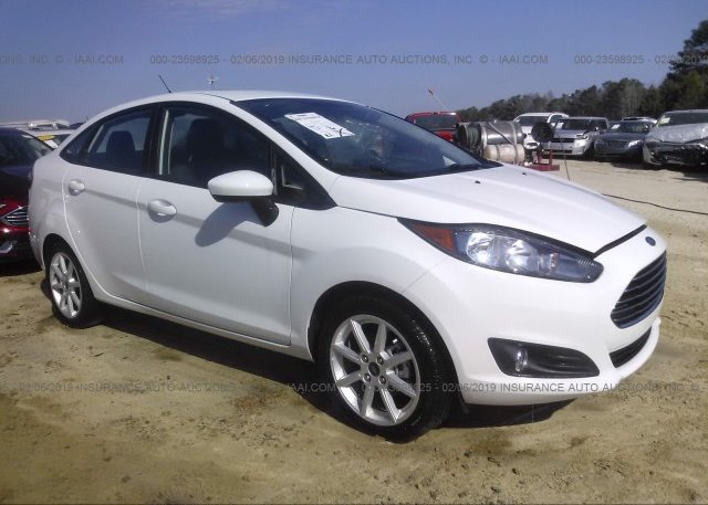 Inventory #809218109 2017 FORD FIESTA